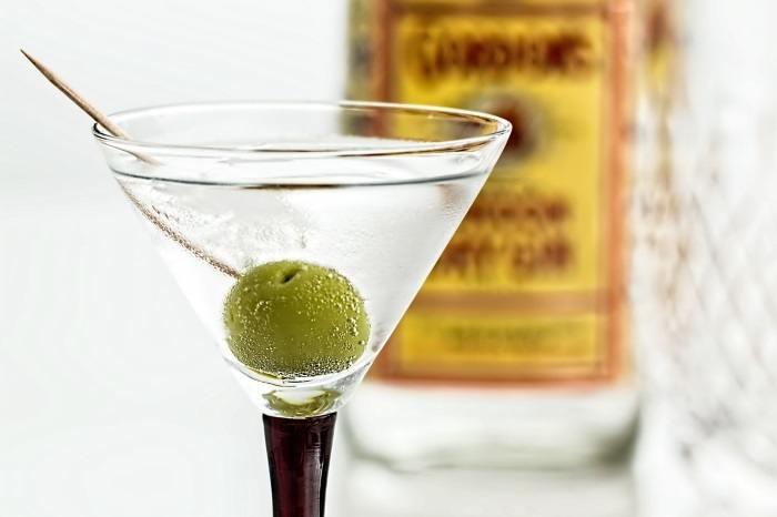 Водка с мартини
