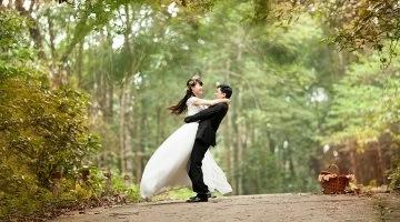 Свадебный танец в лесу