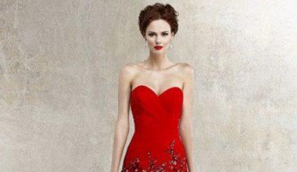 Красное свадебное платье – как сделать правильный выбор