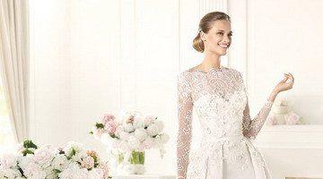 Стоимость закрытых свадебных платьев
