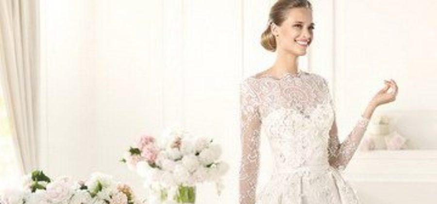 Элегантные свадебные платья с закрытым верхом – все тонкости правильного выбора