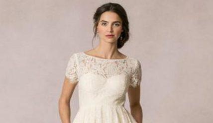 Модные короткие свадебные платья – практические советы по выбору