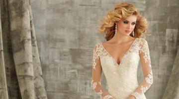 Как выбрать кружевной свадебный наряд