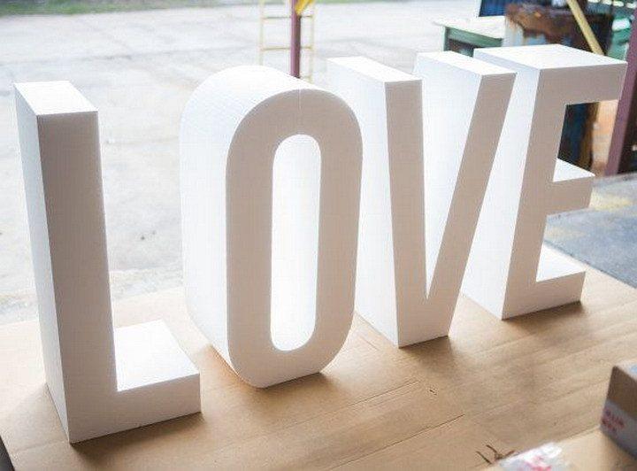Идеи для фотосета с буквами