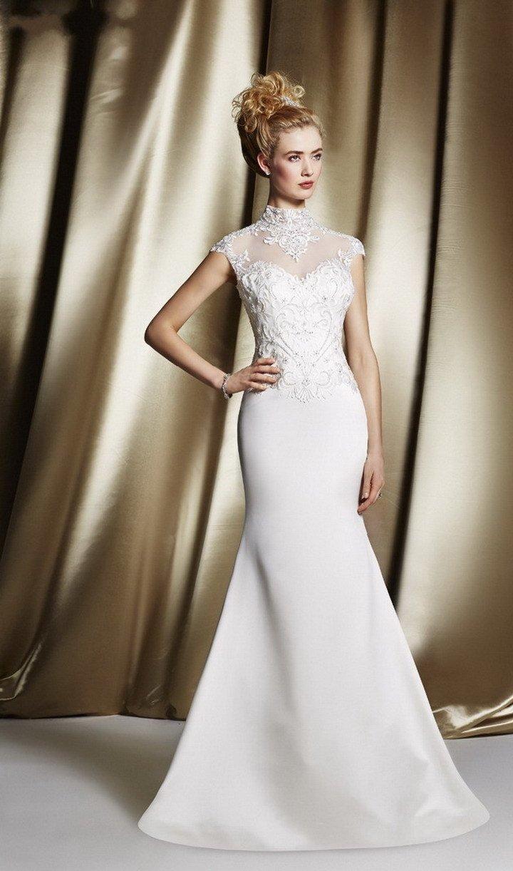 Выбор закрытого свадебного наряда