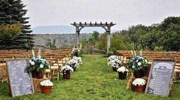 Бракосочетание в стиле кантри