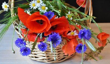 Свадебный букет из полевых цветов  – самый стильный тренд сезона