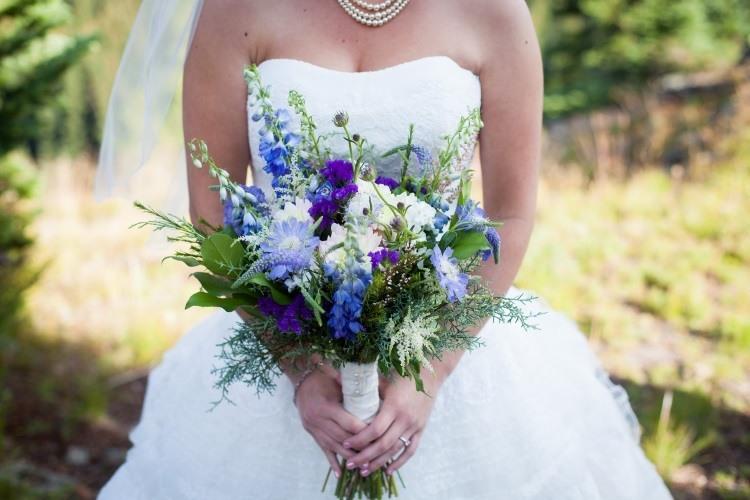 Букет невесты с колокольчиками