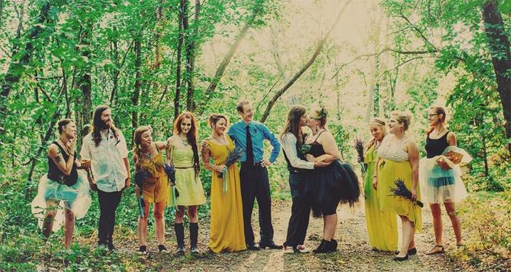 Модное оформление свадьбы в стиле - рок - – варианты, идеи, фото, видео