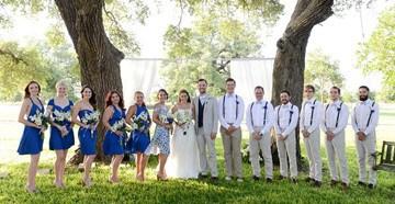 Образы друзей жених и подружек невесты