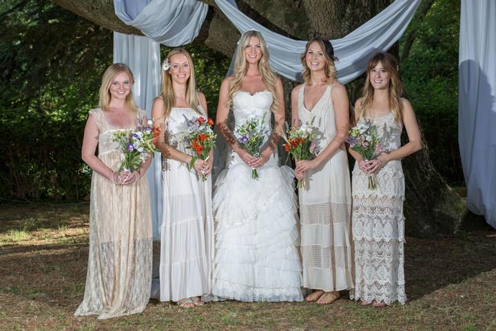 Образы невесты и ее подружек