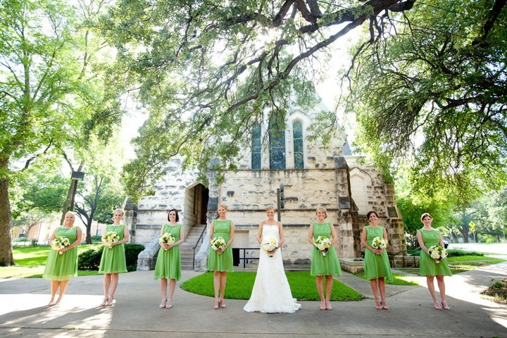 Подружки невесты в сарафанах