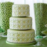 Оригинальная свадьба в зеленом цвете: оформление в гармонии с природой