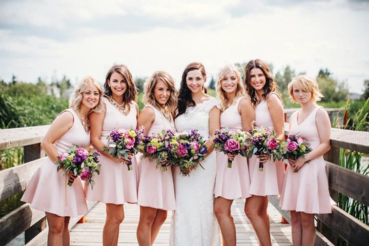 Образ невесты и ее подружек