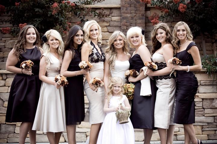 Образы подружек невесты