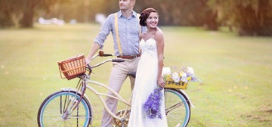 Красочная свадьба в стиле «ретро» – оформление торжества из 60-х годов