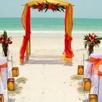Как красиво оформить свадьбу в оранжевом цвете – рекомендации специалистов
