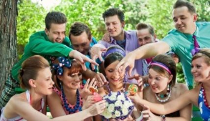 Как стать стилягами: оформление свадьбы в соответствии со стилем