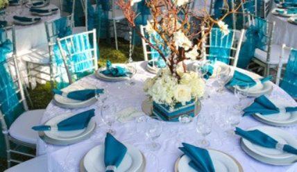Модная свадьба в бирюзовом цвете: важные моменты оформления