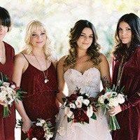 Шикарная свадьба: подробности оформления в цвете марсала
