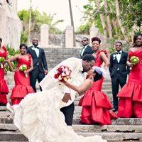 Оригинальная свадьба в красном цвете – как все оформить так, чтобы не опошлить праздник