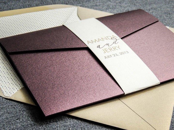Конверты с приглашениями