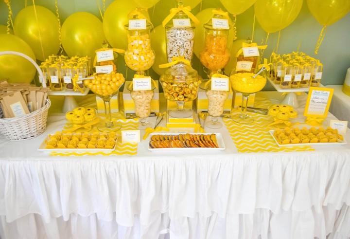 Кэнди-бар на свадьбе