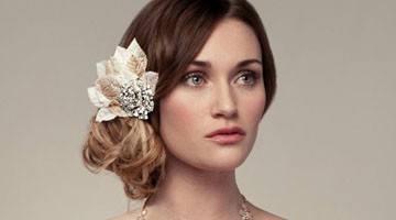Свадебная укладка волосы набок