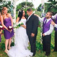 Цвет свадьбы: нюансы оформления в фиолетовых оттенках