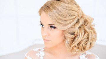 Свадебные укладки с собранными волосами