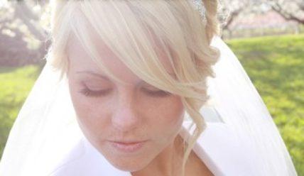 Как выбрать свадебную прическу: делаем акцент на челку