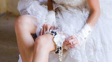 Подвязка невесты как сделать самостояетльно