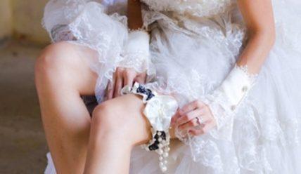 Подвязка невесты своими руками: пошаговые мастер-классы