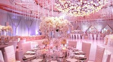 Розовые цвета для торжества