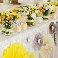 Стильная свадьба в желтом цвете: как привнести в оформление солнечные краски