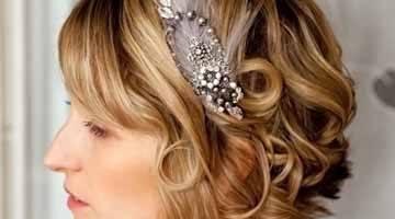 Образ невесты с распущенными волосами