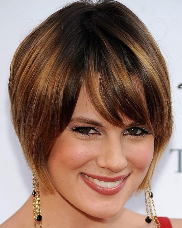 Короткий волос с ассиметричной челкой