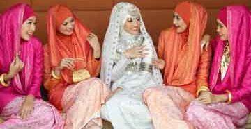 Женские мусульманские наряды