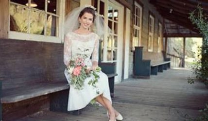 Свадебные платья в стиле «винтаж»: что раньше одевали невесты
