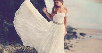 Наряд невесты в стиле бохо