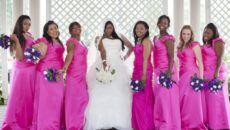 Подходящее платье для полных девушек на свадьбу