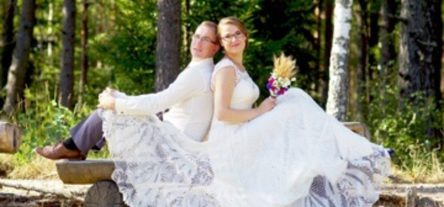 Вязаное свадебное платье – оригинальное решение для невест
