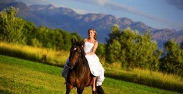 Фотосет с лошадками