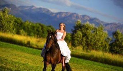 Как провести незабываемую свадебную фотосессию с лошадьми: идеи и фото