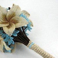 Создаем свадебный букет из бисера: от начала до конца