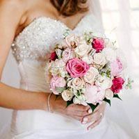 Создаем оригинальный образ невесты: необычные свадебные букеты