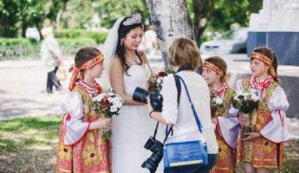 Русский народный стиль – каким должно быть свадебное платье