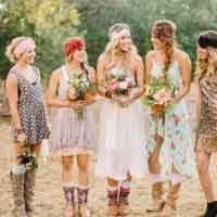 Как должно выглядеть свадебное платье в стиле «рустик»: разбираемся поэтапно
