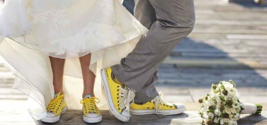 Модели кроссовок, которые можно одеть на свадьбу
